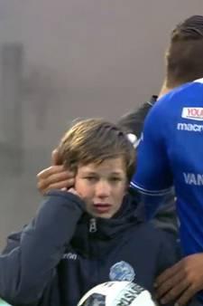 Ballenjongen Jens van FC Den Bosch 'geschrokken maar maakt het goed'