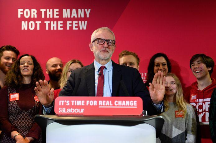 De Labour-partij van Jeremy Corbyn zou uitkomen op haar laagste zetelaantal sinds 1983.
