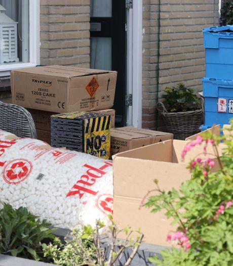 Politie treft behoorlijke hoeveelheid zwaar vuurwerk aan in woning Zoetermeer, bewoners aangehouden