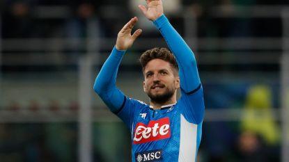 LIVE. Napoli weer op voorsprong, lat houdt Mertens van clubrecord
