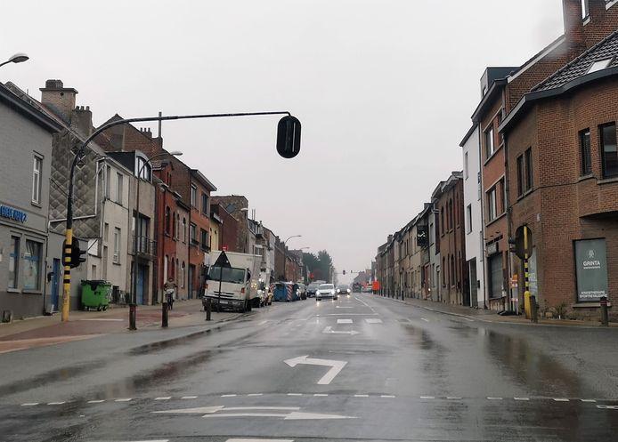De Alsembergsesteenweg in Buizingen wordt even een eenrichtingsstraat volgende week.