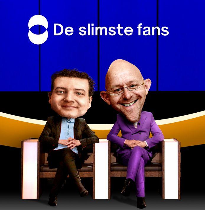 De slimste fans, Gudo Tienhooven en Alexander van Eenennaam.