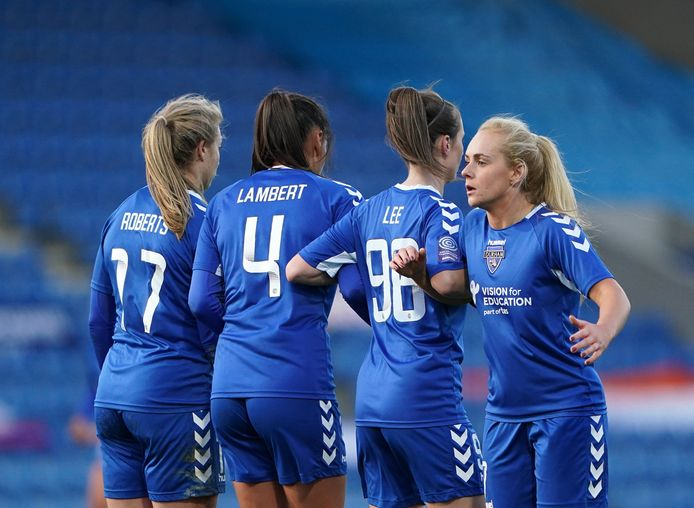 L'équipe féminine de Durham (Angleterre)