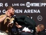 Staredown neemt verkeerde wending: boksers delen rake klappen uit