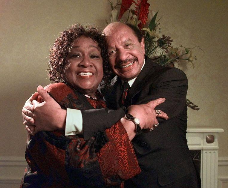 The Jeffersons: Sherman Hemsley met Isabel Sanford in 1998. Beeld ap