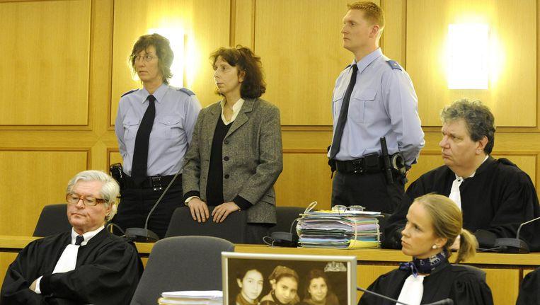 Lhermitte op haar proces in 2008. Beeld BELGA