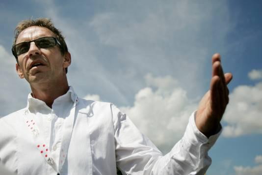Steven Rooks, tijdens de Tour columnist van AD Sportwereld.