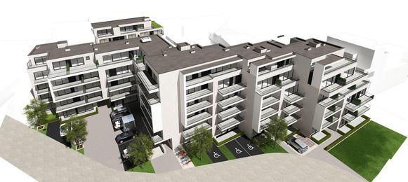 Architectenbureau Johan Debrabander bvba bracht het project 'Devine' op de Vroonhofsite in beeld.