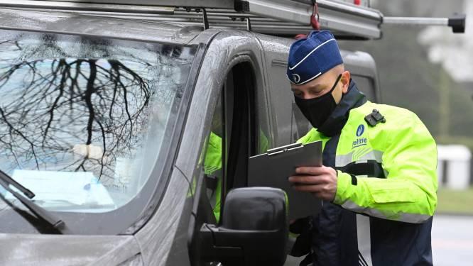 Vlaamse belastingdienst int 2.340 euro tijdens verkeerscontrole