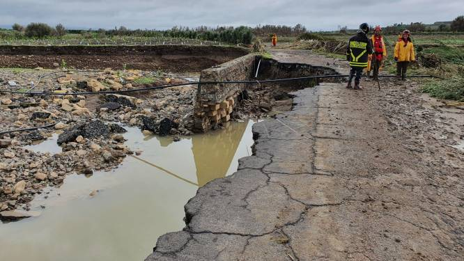 La Sicile inondée par des pluies torrentielles