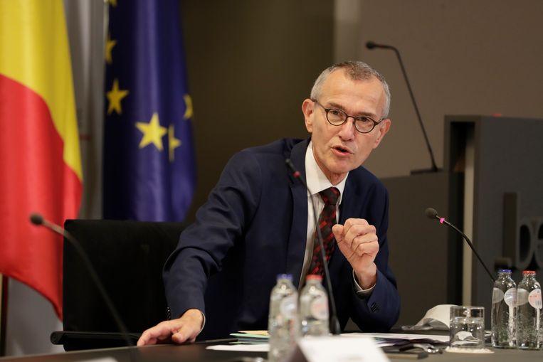 Minister van Volksgezondheid Frank Vandenbroucke. Beeld Photo News