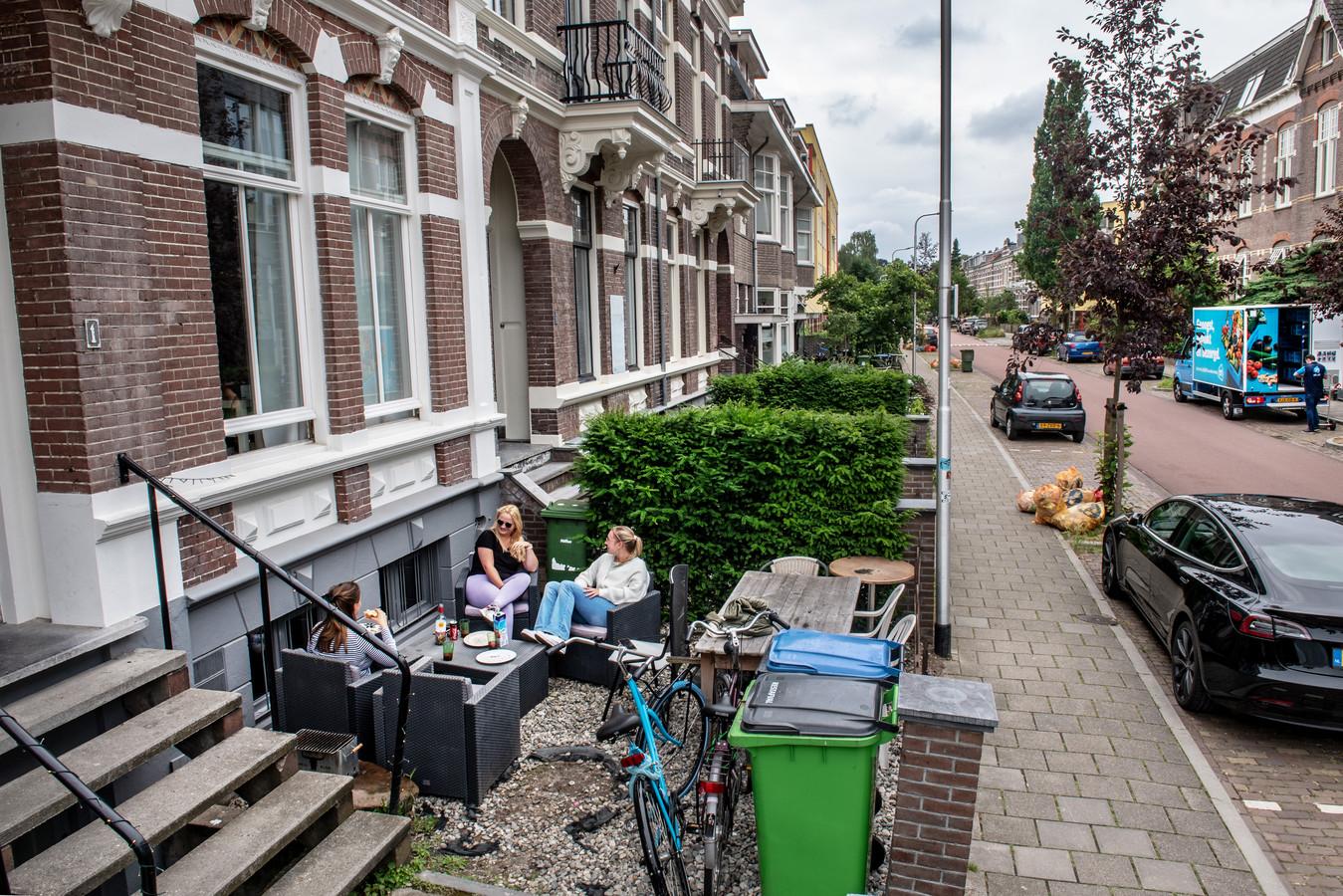 Nijmegen, 23-06-2021. - Kamer- / gezinsbewoning. Dominicanenstraat   Foto: Bert Beelen   Dgfoto