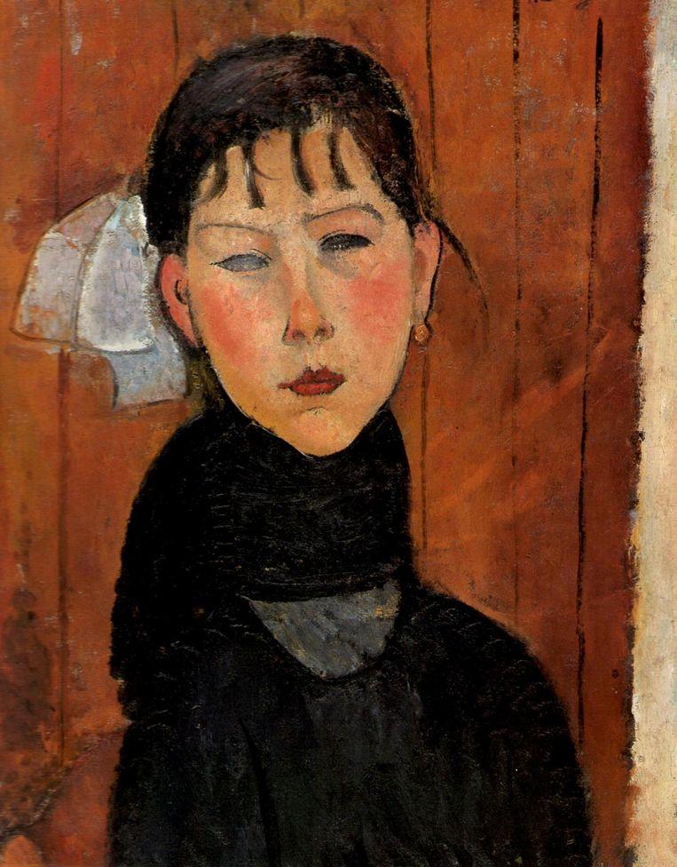 'Marie, dochter van het volk' door Amadeo Modigliani. Beeld rv
