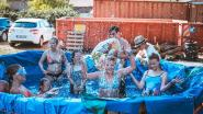Kampprogramma's worden aangepast door de hitte