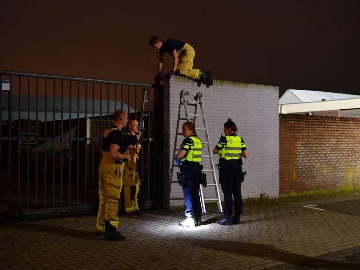 Inbraakpoging bij garagebedrijf in Helmond, één persoon aangehouden