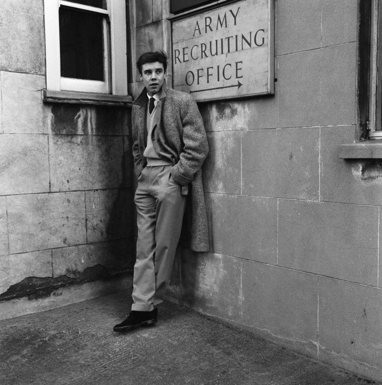 Rock-'n-rollzanger Marty Wilde in Londen. Beeld