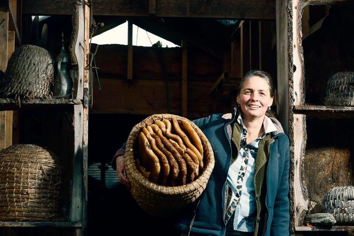 Imker Sonne Copijn is uitgeroepen tot ondernemer van het jaar met haar bedrijf Bijen-en-Bedrijf.