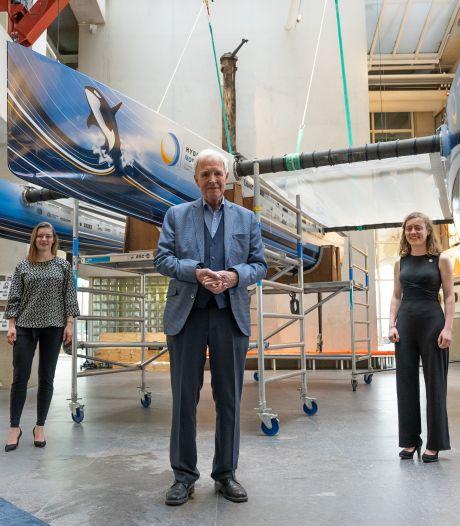 Anna (21) uit Steenwijk maakt eerste vliegende waterstofboot ter wereld: 'Willen maritieme industrie inspireren'