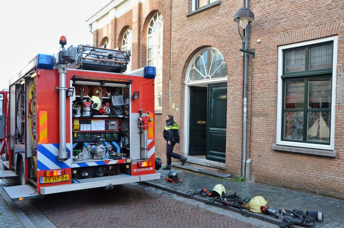 Bij de brand raakte niemand  gewond.