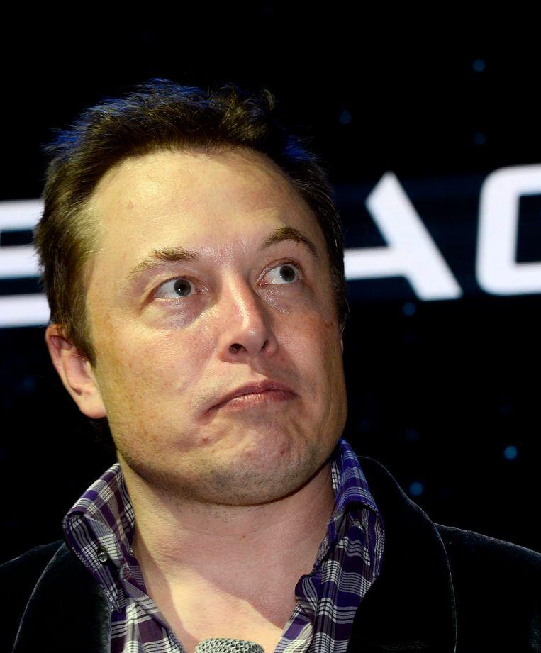 SpaceX-oprichter Elon Musk Beeld anp