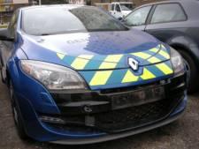 Bloedsnelle interventie-auto van Franse politie te koop