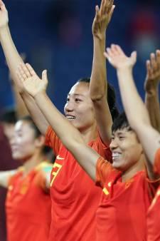 L'équipe féminine chinoise de foot en quarantaine