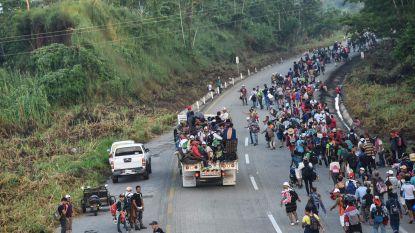 Hoe de migrantenmars richting de VS groeide tot een enorme karavaan, groter dan ooit