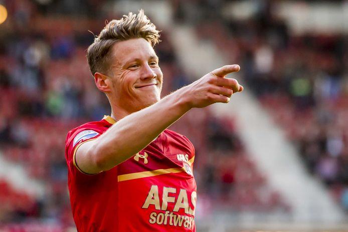 Het persoonlijke record van Weghorst is 18 doelpunten in een seizoen (AZ, 2017/18).