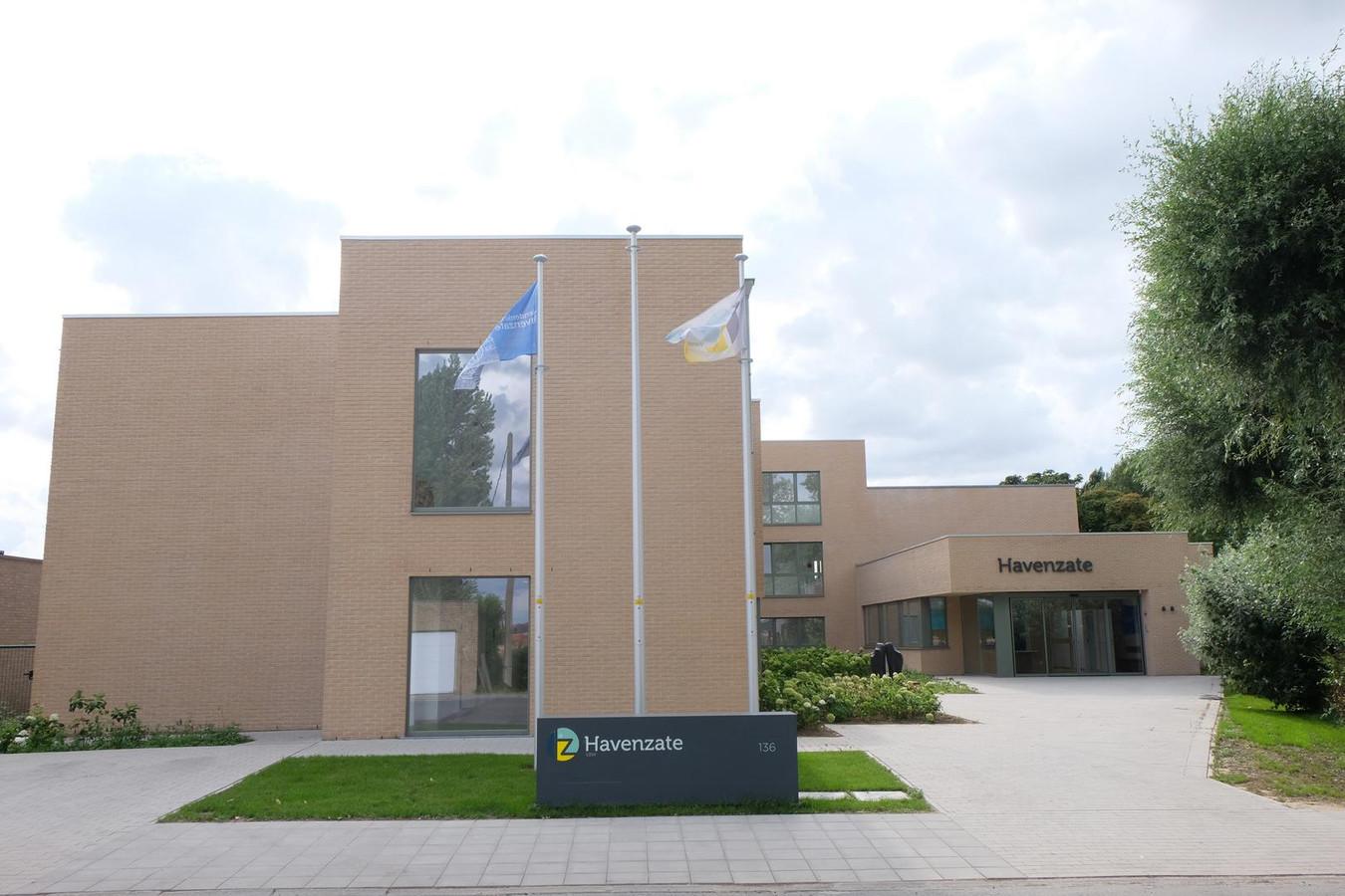 Havenzate in Veurne, een ondersteuningscentrum voor mensen met een mentale beperking.