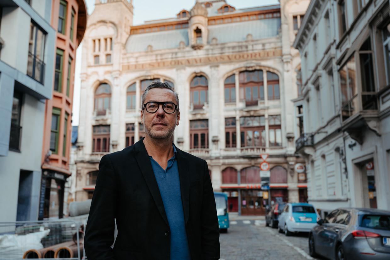 Algemeen coördinator Franky Devos voor – nu nog – Kunstencentrum Vooruit in Gent. Beeld Damon De Backer