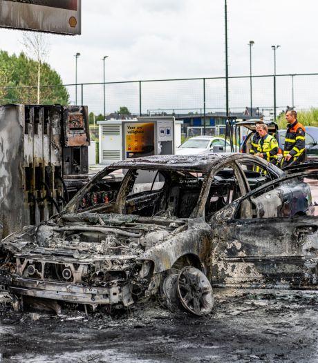 Man (37) steekt zichzelf in brand bij tankstation Tilburg: 'Spijt dat ik zoiets heb kunnen doen'