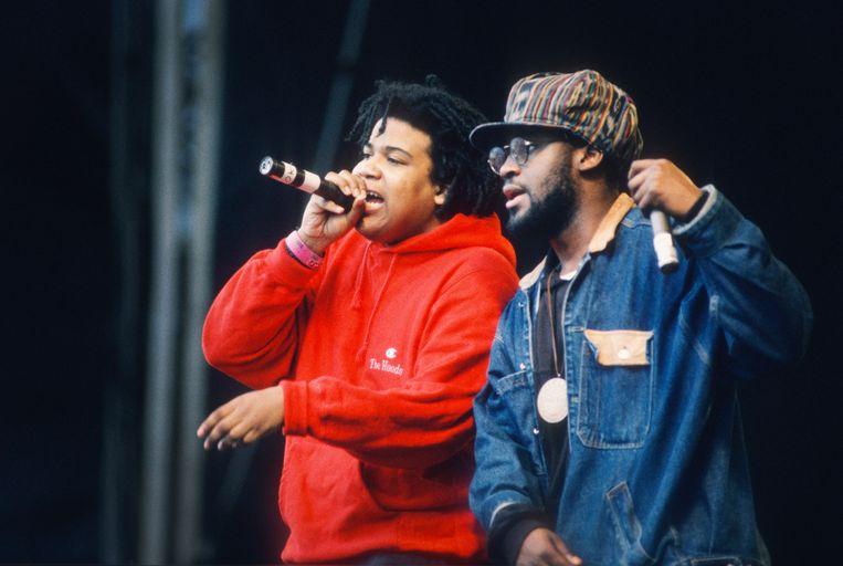 De La Soul in 1990 op Torhout/Werchter.  Beeld Getty Images