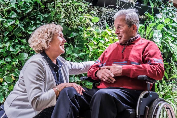 Lonnie van den Berg en haar vader Piet van Ruijven.