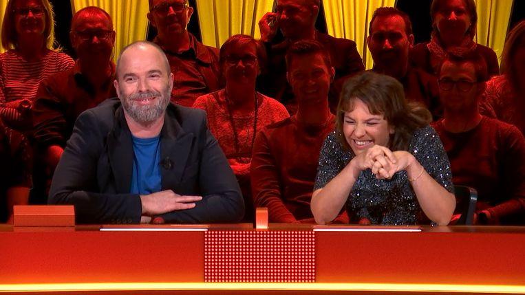 Tomas De Soete en Siska Schoeters in 'Twee tot de zesde macht'