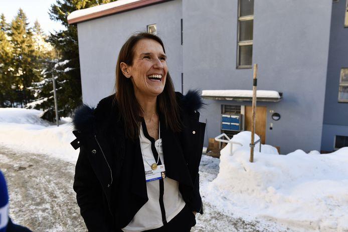 Sophie Wilmès in Davos