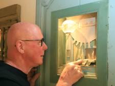 Stof en spinnewebben horen thuis in de kijkkasten van Peter Gabriëlse