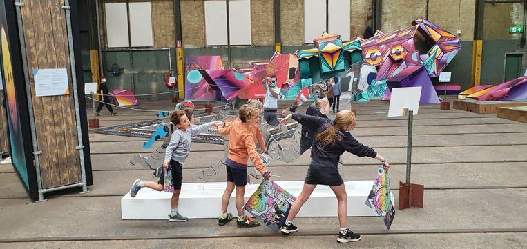 Tentoonstelling  Straat. Beeld Vincent de Braak