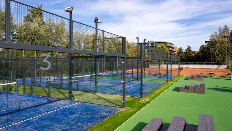 Amstelpark Padel Beeld Rink Hof