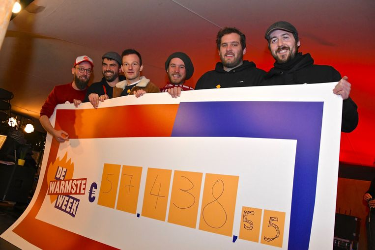 Studio Kontrabas leverde bijna 60.000 euro op.