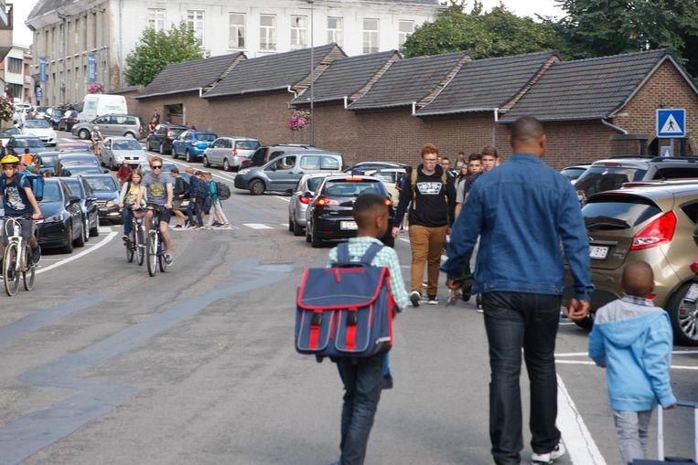 De schoolomgeving op Waaiberg.