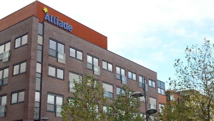 Het hoofdkantoor van Alliade in Heerenveen