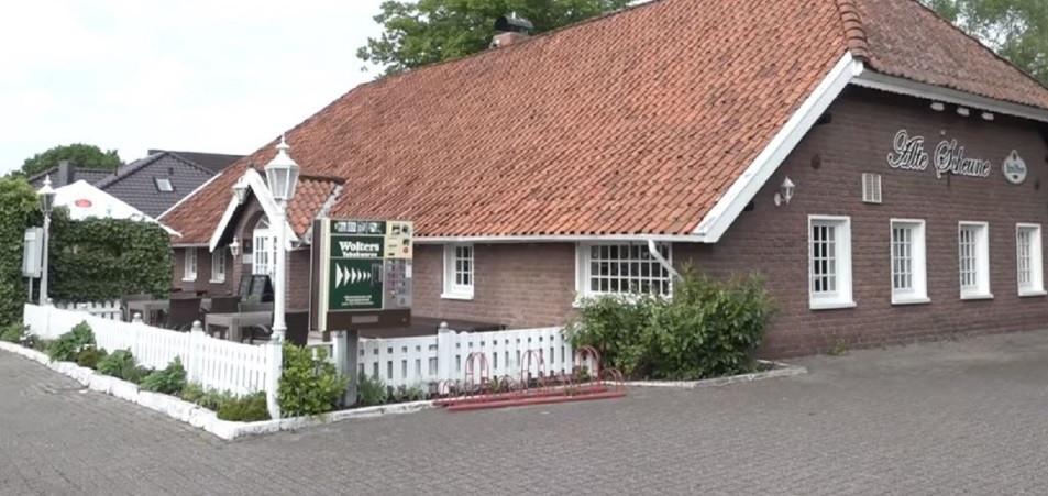 Het bewuste restaurant in het Duitse Leer.