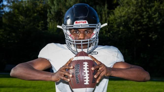 Joshua (17) speelt American Football en werkt aan zijn droom: 'Over twee jaar wil ik naar Amerika'