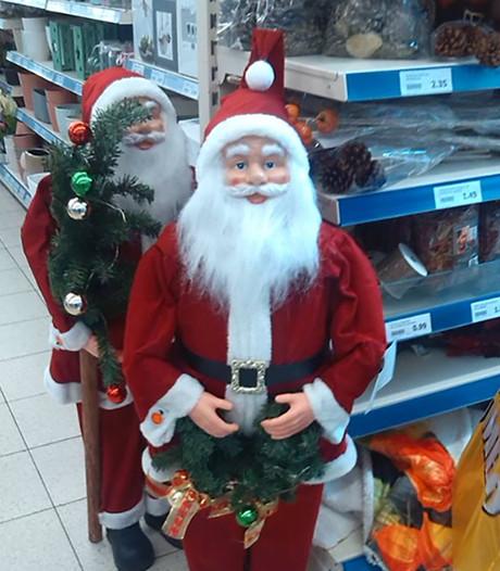 Action wuift kritiek op vroege verkoop kerstmannen weg