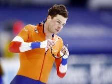 Sven Kramer kruipt in Veldhoven op de racefiets en start in Omloop der Kempen