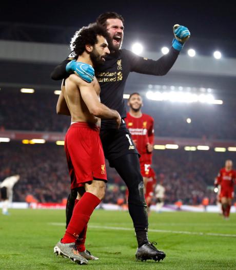 Liverpool dompte Man U et s'isole encore un peu plus en tête