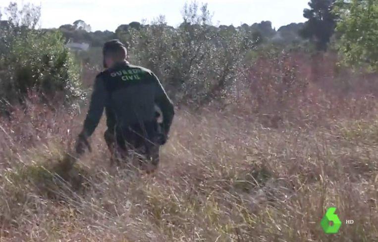 Bij de zoektocht naar kinderen werd een grote politiemacht ingezet.