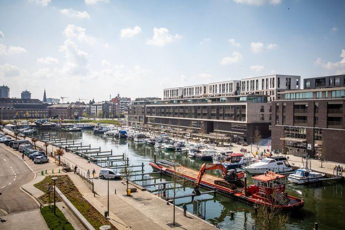 De oude jachthaven moet hét nieuwe trekpleister worden voor de sportwaterclubs in Hasselt.