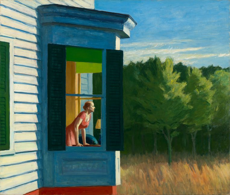 Edward Hopper, Cape Cod Morning, 1950. Beeld Gift of the Sara Roby Foundation ©Heirs of Josephine Hopper
