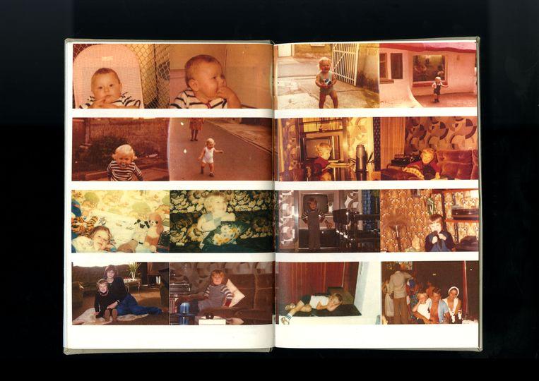 Een spread uit 'IL Y A'. Beeld Laura Gieseke